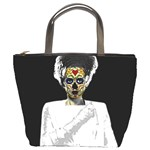 The Bride of Day Of Dead Bucket Bag