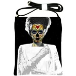 The Bride of Day Of Dead Shoulder Sling Bag