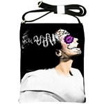 Bride of The Day of The Dead Shoulder Sling Bag