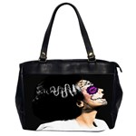 Day Of Dead Bride Oversize Office Handbag (Two Sides)