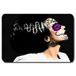 Day Of Dead Bride Large Doormat
