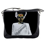 The Bride Of Day Of Dead Messenger Bag