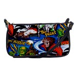 Monsters Shoulder Clutch Bag