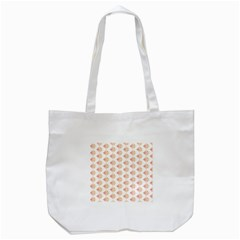 Geometric Losangle Pattern Rosy Tote Bag (white) by paulaoliveiradesign