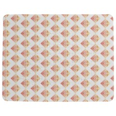 Geometric Losangle Pattern Rosy Jigsaw Puzzle Photo Stand (rectangular) by paulaoliveiradesign
