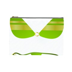 Green Swimsuit Cosmetic Bag (large)  by BangZart