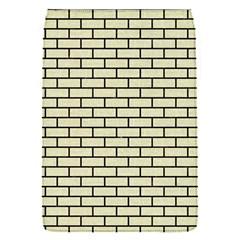 Brick1 Black Marble & Beige Linen (r) Flap Covers (s)  by trendistuff