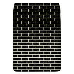Brick1 Black Marble & Beige Linen Flap Covers (s)  by trendistuff