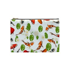 Flower Cosmetic Bag (medium) by PattyVilleDesigns