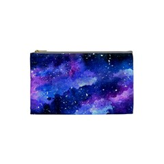 Galaxy Cosmetic Bag (small)  by Kathrinlegg