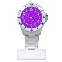 Decorative Seamless Pattern  Plastic Nurses Watch