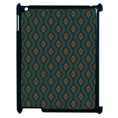 Ornamental Pattern Background Apple Ipad 2 Case (black)