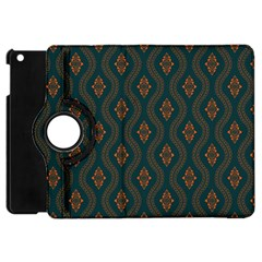 Ornamental Pattern Background Apple Ipad Mini Flip 360 Case