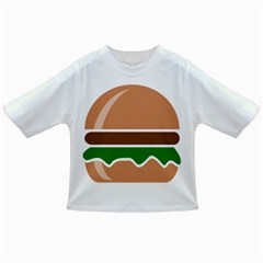 Hamburger Fast Food A Sandwich Infant/toddler T-shirts