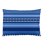 Aztech Blue 2 Pillow Case (Two Sides)