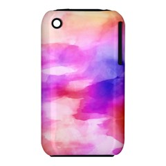 Colorful Abstract Pink And Purple Pattern Iphone 3s/3gs by paulaoliveiradesign