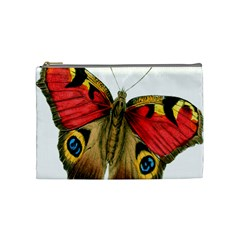 Butterfly Bright Vintage Drawing Cosmetic Bag (medium)