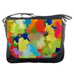 Summer Feeling Splash Messenger Bags by designworld65