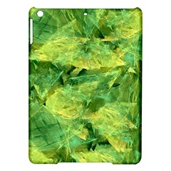 Green Springtime Leafs Ipad Air Hardshell Cases by designworld65