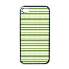 Spring Stripes Apple Iphone 4 Case (black) by designworld65