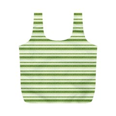 Spring Stripes Full Print Recycle Bags (m)  by designworld65