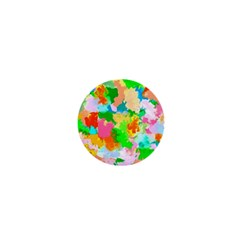 Colorful Summer Splash 1  Mini Magnets by designworld65