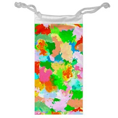 Colorful Summer Splash Jewelry Bag by designworld65