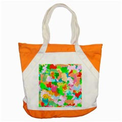 Colorful Summer Splash Accent Tote Bag by designworld65