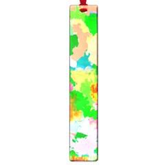 Colorful Summer Splash Large Book Marks by designworld65
