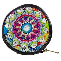 Sunshine Feeling Mandala Mini Makeup Bags by designworld65