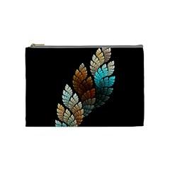 Sheet Shape Shadow  Cosmetic Bag (medium)  by amphoto