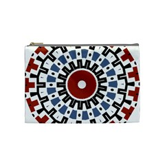 Mandala Art Ornament Pattern Cosmetic Bag (medium)