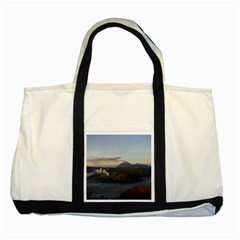 Sunrise Mount Bromo Tengger Semeru National Park  Indonesia Two Tone Tote Bag