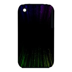 Colorful Light Ray Border Animation Loop Rainbow Motion Background Space Iphone 3s/3gs by Mariart