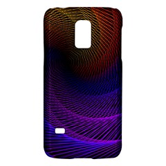 Striped Abstract Wave Background Structural Colorful Texture Line Light Wave Waves Chevron Galaxy S5 Mini by Mariart