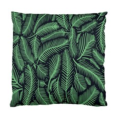 Coconut Leaves Summer Green Standard Cushion Case (one Side) by Mariart