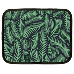 Coconut Leaves Summer Green Netbook Case (large) by Mariart
