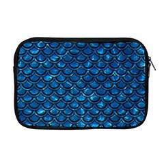 Scales2 Black Marble & Deep Blue Water (r) Apple Macbook Pro 17  Zipper Case by trendistuff