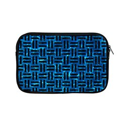 Woven1 Black Marble & Deep Blue Water (r) Apple Macbook Pro 13  Zipper Case by trendistuff