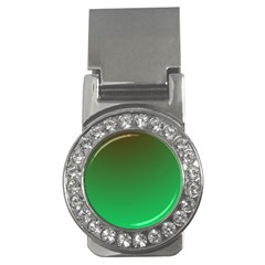 Course Colorful Pattern Abstract Green Money Clips (cz)