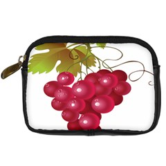 Red Fruit Grape Digital Camera Cases