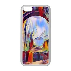Abstract Tunnel Apple Iphone 5c Seamless Case (white)