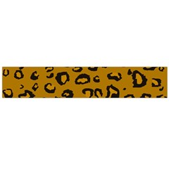 Golden Leopard Flano Scarf (large) by TRENDYcouture