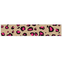 Pink Leopard 2 Flano Scarf (large) by TRENDYcouture