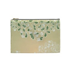 Flower Frame Green Sexy Cosmetic Bag (medium)  by Mariart