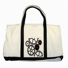 Machine Iron Maintenance Two Tone Tote Bag