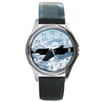 U-2 Dragon Lady Round Metal Watch