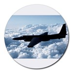 U-2 Dragon Lady Round Mousepad
