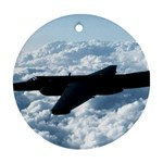 U-2 Dragon Lady Ornament (Round)