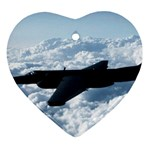 U-2 Dragon Lady Ornament (Heart)